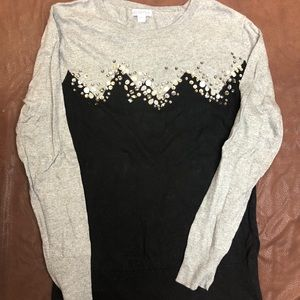 Merona bedazzled sweater